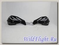 Защита рук (пара) HP15 черные армированные SM-PARTS