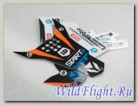 Наклейки на пластик (комплект) YCF 88 (2013)