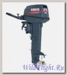 Двухтактный подвесной лодочный мотор Yamaha 25BMHS с предварительным смешиванием