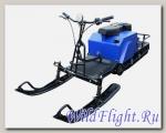 Мотобуксировщик ИжТехМаш Лидер-3-4Т-18.5 LONG с модулем и реверсом