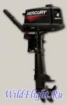 Двухтактный подвесной лодочный мотор Mercury 4 M