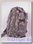 Рюкзак серый камуфляжный типа светлый хаки, армейский.