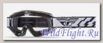 Очки для мотокросса FLY RACING FOCUS (2016) чёрные, прозрачные