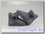 UGG WOMENS MINI BAILEY BUTTON grey 3352