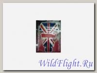 Накладка на бак GTS013 Английский флаг