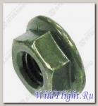 Гайка с фланцем М6x1.0мм, сталь LU021056