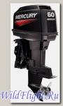 Двухтактный подвесной лодочный мотор Mercury 60 ELPTO