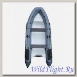Лодка НАШИ ЛОДКИ НАВИГАТОР 450R (RIB) надувная лодка с жестким дном