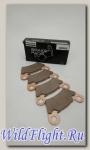 Колодки тормозные Polaris KIT-FRONT BRAKE PAD ASM 1.5 2202413