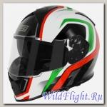 Шлем (интеграл) Origine GT Italia красный/белый/зеленый