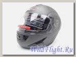 Шлем Vcan 200 модуляр stone grey