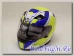 Шлем THH TS-39 YEL/BLU PROJECT X