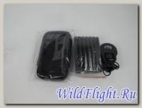 Чехол для навигатора-телефона с креплением на руль 5,5