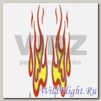 Наклейка (2шт) (15х40) Fire