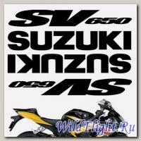Комплект наклеек Crazy Iron SUZUKI SV650