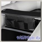 Накладка мягкая на сидение MARLIN (черная)+сумка рундук 380 (96 см)