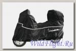 Чехол для скутера Vespa Primavera (с кофром) Black