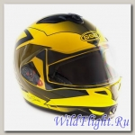 Шлем GSB G-339 YELLOW BLACK