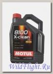 Мотор/масло MOTUL 8100 X-Clean C3 5W-30 (5л) (MOTUL)