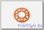 Звезда ведомая аллюминиевая питбайк 428-43T оранжевая SM-PARTS
