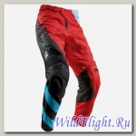 Брюки THOR FUSE AIR RIVE RED/BLUE