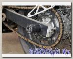 Слайдеры Crazy Iron в ось заднего колеса для Yamaha XT660X/XT660R