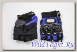 Перчатки PRO-BIKER ST-04C синие