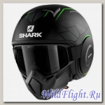 Шлем SHARK Street-Drak matt black green