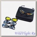 Очки OKEY BKT-6050 СПОРТ (в наборе +диоптр.оправа,линзы (4 цвета), чехол, коробочка