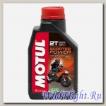 Мотор/маcло MOTUL SCOOTER POWER 2T (1л.) (MOTUL)