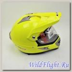 Шлем LS2 MX433 WITH VISOR SINGLE MONO Yellow