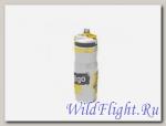 Бутыль для воды Contigo Devon Insulated с носиком легкосжимаемая бело-желтая 650мл.