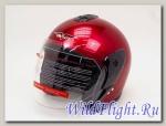 Шлем Vcan Max 617 открытый burgundy