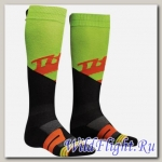 Носки мужские THOR MOTO KNIT SOCK RIVE LIME/RED ORANGE