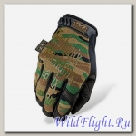 Перчатки Mechanix Original camo woodland
