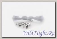 Защита рук (пара) HP03 белые армированные SM-PARTS