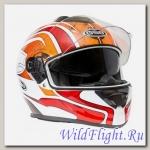 Шлем GSB G-350 RED WHITE