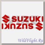 Наклейка (2шт) (7х20) Suzuki