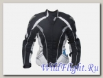 Куртка OSA женская текстильная черный/белый