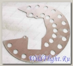 Пластина защитная поворотного кулака подвески LU018432