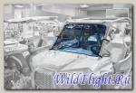 Переднее окно для UTV Polaris RZR XP1000
