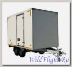 Прицеп-фургон коммерческий (легкий сэндвич) модель 3793М1