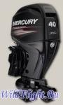 Водометный четырехтактный подвесной лодочный мотор Mercury Jet F40 ELPT EFI