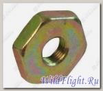 Гайка шестигранная низкая M10х1.0мм, сталь LU015696