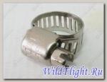 Хомут 10-16х8мм, сталь LU014745