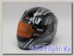 Шлем HIZER 521 black
