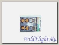 Стропы универсальные для крепления багажа (набор), 2 шт.Синие
