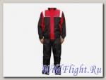 Дождевик мото TANKED TRC20 (штаны+куртка), в мешочке, материал 190T POLY TAFFETA, красный