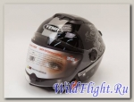 Шлем мото YEMA (617) чёрный