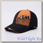 Кепка KTM чёрно-оранжевая